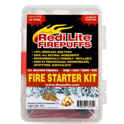 Redi Lite Firepuffs' Complete Emergency Fire Starter Kit​