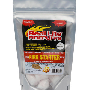 Redi Lite Firepuffs' Emergency Fire Starter Kit Refill Pack